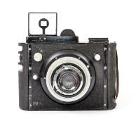 Peckham Wray 5x4 Aerial Camera with Wray Lustrar 135mm f4.8 Lens (condition 5/6F) (BW).