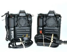 Kodak Professional DCS410 Early DSLR. Based on a Nikon N90 (F90 in UK). With charger (battery is