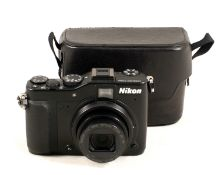 Nikon Coolpix P7000 Compact Digital Camera.