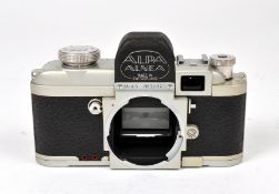 Chrome Alpa Alnea Mod 5 Camera Body #32821. (condition 5F).