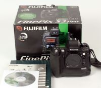Fuji S3 Pro Digital SLR Body. (condition 5E) with battery (no charger), strap, CD etc, in makers