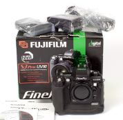 RARE Fuji S3 Pro UVIR DSLR. (condition 5E). With battery, charger, strap, CD & cables, in makers