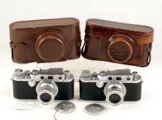 A Genuine 'Fake' Leica IIIb, Made (Unofficially) in The Reid & Sigrist Factory. In the course of his