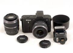 Nikon V1 Mirrorless Digital Camera Outfit.