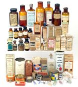 A LARGE Quantity of Glass Bottles & Packets of Vintage Developers, Fixers & Other Chemicals. WARNING