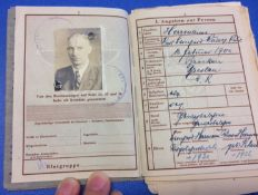 German NSKK Officers' Album, with Unique Close-Up Photos of Hitler & Others.