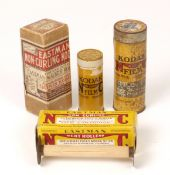 A Rare Sealed Roll of 4 inch Eastman Non-Curling Kodak Roll Film. For use in a Eastman-Walker Roll