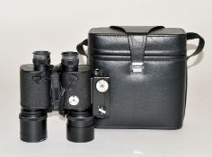 Nicnon 7X50 Binoculars with Built-in Ricoh Half Frame Clockwork Camera. (condition 4/5F). With Sky