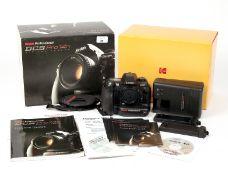 Kodak DCS Pro14n Full-Frame Digital Camera. Body #01693. (condition 4/5E). With manual, 2