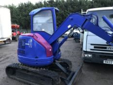 Komatsu PC28UU mini digger, yr2004 SN;14759 WHEN TESTED WAS SEEN TO DRIVE AND DIG