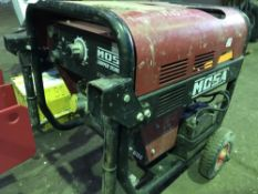 Mosa Chopper compact sized arc welder WHEN TESTED WAS SEEN TO RUN..OUTPUT UNTESTED...NO VAT ON