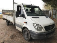 MERCEDES SPRINTER DROP SIDE TRUCK WITH TAIL LIFT REG: LR62 TOH DIRECT FROM LOCAL COMPANY AS PART
