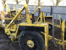 LARGE SIZED CABLE DRUM TRAILER