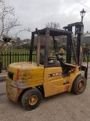 CATERPILLAR DP35 3.5 TONNE RATED DIESEL FORKLIFT TRUCK WITH SIDE SHIFT LOT LOCATION: CHINGFORD,