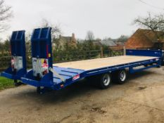 JPM 19 TONNE GROSS TRACTOR TOWED LOW LOADER TRAILER YEAR 2018