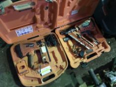FIRST AND SECOND FIX PASLODE NAIL GUNS, CONDITION UNKNOWN