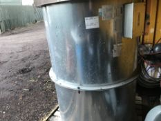 2no. Large flow air extractor fans, ex-factory