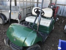 YAMAHA GOLF BUGGY, PETROL ENGINED TURNS OVER NOT STARTING...FUEL??
