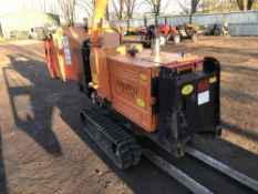 TIMBERWOLF TW190TR TRACKED CHIPPER SHREDDER, YEAR 2008 BUILD, 2178 REC HRS, SN:208139005A5. WHEN
