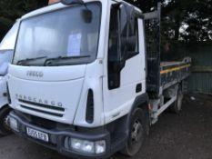 Iveco Euro Cargo 7500Kg tipper lorry, manual gearbox, reg. EU55 EFB, drainage fleet upgrade 379,