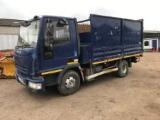 FORD CARGO TECTOR TIPPER TRUCK 7500KG RATED