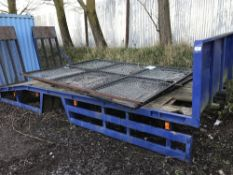 BEAVERTAIL PLANT BODY FROM DAF 45 LORRY 18FT TOTAL LENGTH, 13FT FLAT PLUS 5FT BEAVERTAIL,