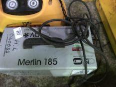 MERLIN 185 110VOLT POWERED WELDER DIRECT FROM TRAINING SCHOOL LIQUIDATION