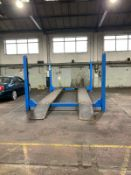 HOFFMANN 442LP 3 PHASE POWERED 4 POST VEHICLE LIFT
