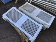 QTY OF MUCK CONVEYOR GUARDS NO VAT ON HAMMER PRICE