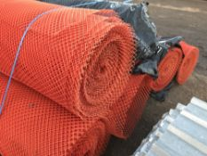 6no. Rolls of soil stabiliser netting, 50m per roll