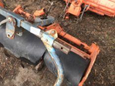 KUBOTA RS1100 TRACTOR MOUNTED FOR COMPACT TRACTOR ( NOT SUITABLE FOR 3 POINT LINKAGE!!)