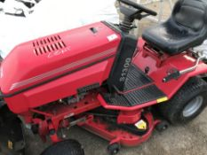 WESTWOOD S1300 RIDE ON MOWER, UNTESTED..NO VAT ON HAMMER PRICE