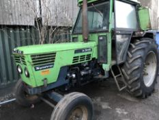 Deutz Synchron D7206 2wd agricultural tractor WHEN TESTED WAS SEEN TO DRIVE STEER AND BRAKE
