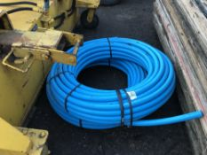 2 X ROLLS OF 32MM WATER PIPE NO VAT ON HAMMER PRICE