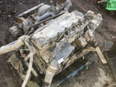 DAF 55.220 LORRY ENGINE AND GEARBOX & AXLE NO VAT ON HAMMER PRICE