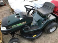 HAYTER HERITAGE RIDE ON MOWER, 13/30 NO BATTERY, CONDITION UNKNOWN NO VAT ON HAMMER PRICE