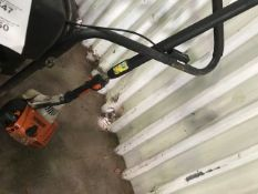 STIHL POLE SAW DRIVE UNIT..NO HEAD..THROTTLE NEEDS ATTENTION..WHEN TESTED WAS SEEN TO RUN AND