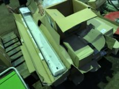 PALLET OF STRIP LIGHTS AND MOUNTING CHAINS...NO VAT ON HAMMER PRICE