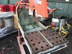 PETROL ENGINED SLAB SAWBENCH