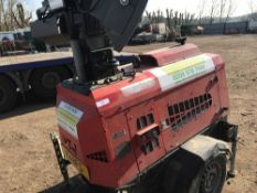 VT1 TOWED LIGHTING TOWER SET PN:4148FC SN:702678 WHEN TESTED WAS SEEN TO RUN AND MAKE LIGHT AS