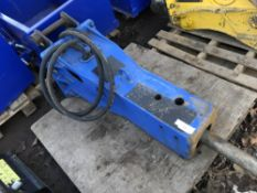 MSB 250 TYPE BREAKER ON 45MM PINS SUITABLE FOR 8 TONNE EXCAVATOR