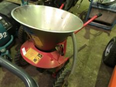 PUSH ALONG SALT SPREADER...SOURCED FROM LARGE CONTRACT CLEANING COMPANY.....THIS ITEM MAY BE
