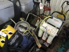 8 X MIXED VACUUMS AND OTHER CLEANING RELATED ITEMS...SOURCED FROM LARGE CONTRACT CLEANING