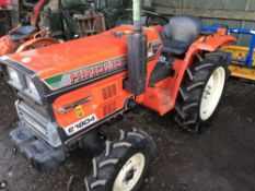 HINOMOTO E1804 4WD COMPACT TRACTOR SN:0679 WHEN TESTED WAS SEEN TO RUN, DRIVE, STEER AND BRAKE