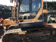HYUNDAI ROBEX 145LC-9 EXCAVATOR YEAR 2013 5349 REC HRS, 1 BUCKET SN:HHKZ406PD0001086 WHEN TESTED WAS