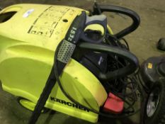 KARCHER STEAM CLEANER.. SOLD UNDER THE AUCTIONEERS MARGIN SCHEME…NO VAT WILL BE CHARGED ON THE