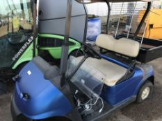 BATTERY POWERED GOLF BUGGY...SOURCED FROM LARGE CONTRACT CLEANING COMPANY.....THIS ITEM MAY BE