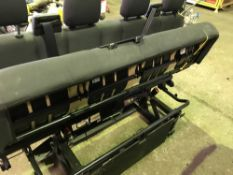 2 x Setsof rear seats for yr2018 double cab Ford Transit