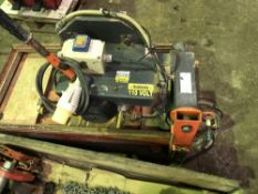 110v Slab sawbench, hire fleet update/renewal programme