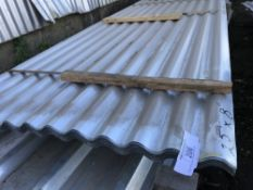 Pack of 25no. 8ft corrugated roof sheets